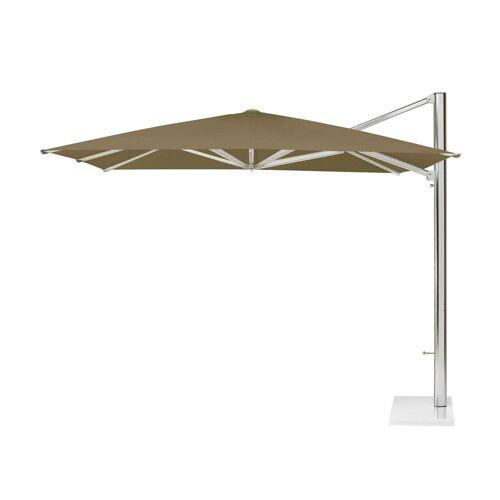 Emu Shade Ampelschirm inkl. Schirmständer ohne Beschwerungsplatten  braun