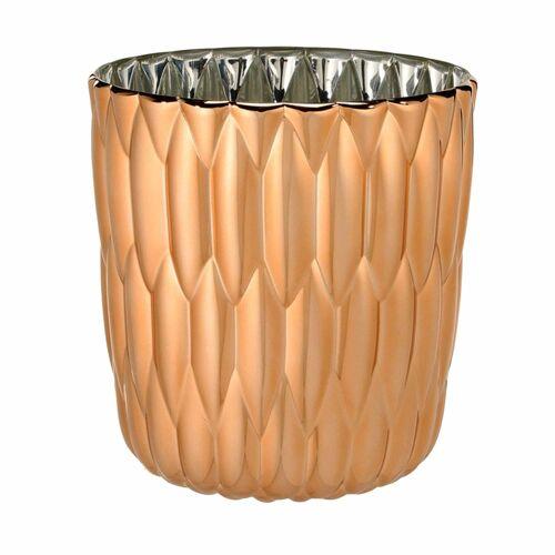 Kartell Jelly Vase metallisiert  rot