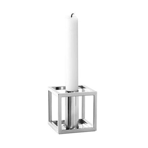 by Lassen Kubus 1 Kerzenständer  grau
