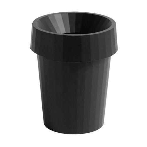 HAY Shade Papierkorb  schwarz