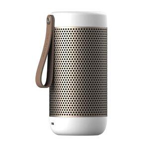 Kreafunk aCoustic Bluetooth Lautsprecher  weiss