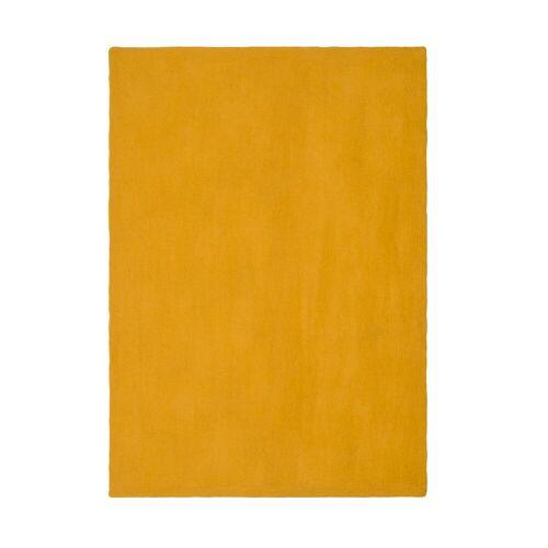 myfelt Klara Flat Teppich  gelb