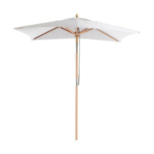 ikarus Balkonschirm mit Knickgelenk Sonnenschirm ohne Schirmständer  grau