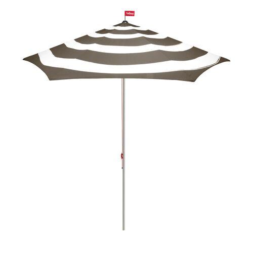 Fatboy Stripesol Sonnenschirm ohne Schirmständer  grau