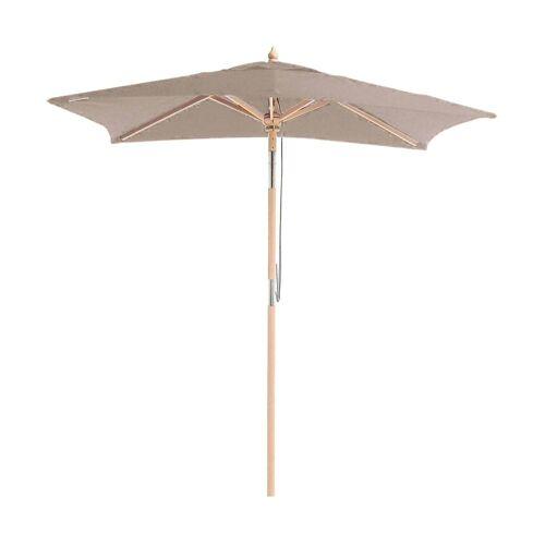 ikarus Balkonschirm mit Knickgelenk Sonnenschirm ohne Schirmständer  taupe