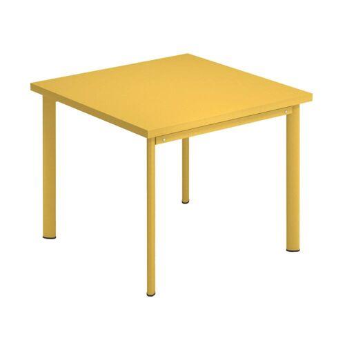 Emu Star Tisch quadratisch  gelb