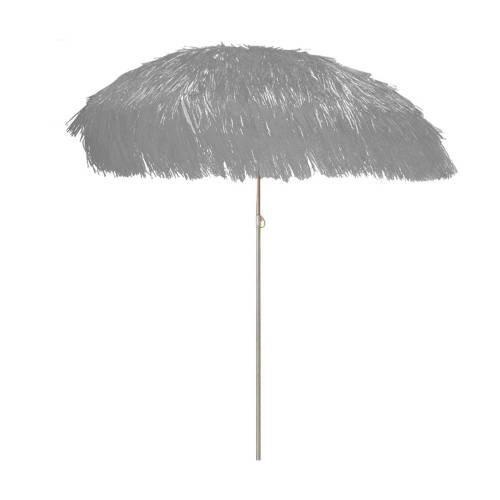 Jan Kurtz Hawaii Sonnenschirm mit Knickgelenk ohne Schirmständer  grau