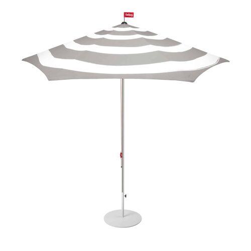 Fatboy Stripesol Sonnenschirm mit Schirmständer  grau