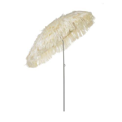 Jan Kurtz Hawaii Sonnenschirm mit Knickgelenk ohne Schirmständer  beige