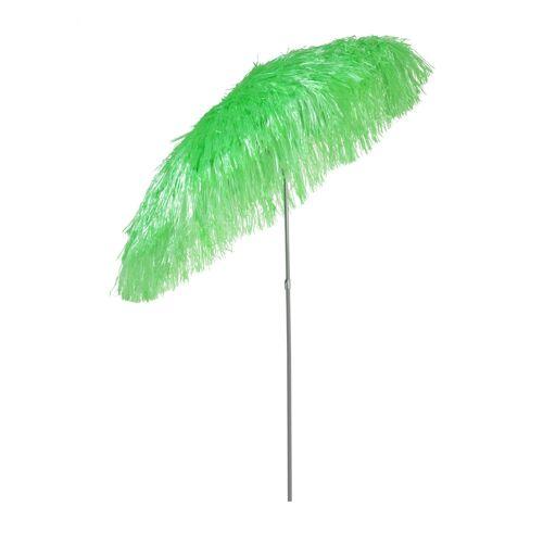 Jan Kurtz Hawaii Sonnenschirm mit Knickgelenk ohne Schirmständer  grün