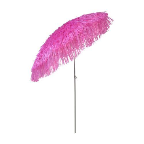 Jan Kurtz Hawaii Sonnenschirm mit Knickgelenk ohne Schirmständer  rot