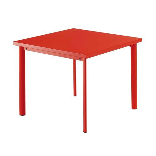 Emu Star Tisch quadratisch  rot