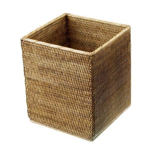 Decor Walther Basket Papierkorb quadratisch  beige