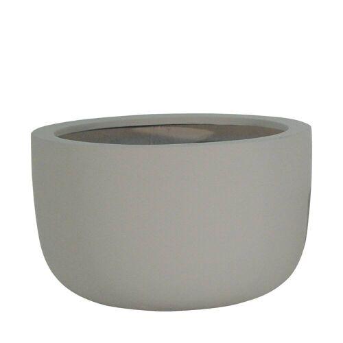 amei Stonefiber Pot Schale Blumentopf  grau