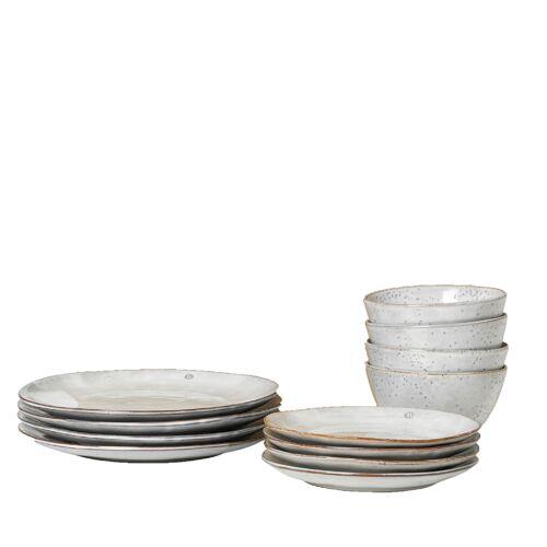 Broste Nordic Sand Dinner-Set Geschirr  beige