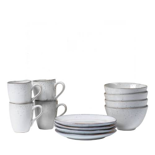Broste Nordic Sand Frühstück-Set Geschirr  beige