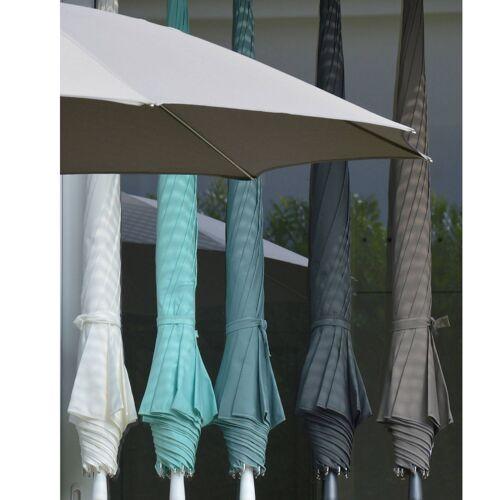 Jan Kurtz Ravenna Sonnenschirm mit Knickgelenk ohne Schirmständer  grau