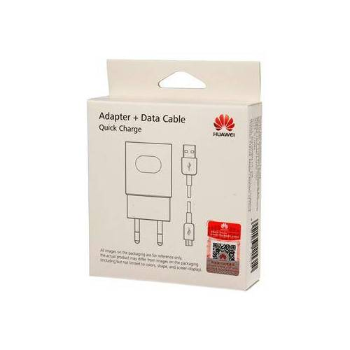 Huawei Blister Huawei Original AP32 Reiseadapter Strom Ladegerät + USB-Micro Data Kabe