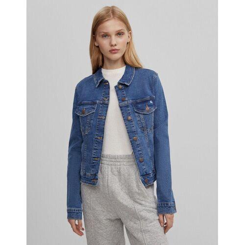 Bershka Jeansjacke Damen Xl Blau