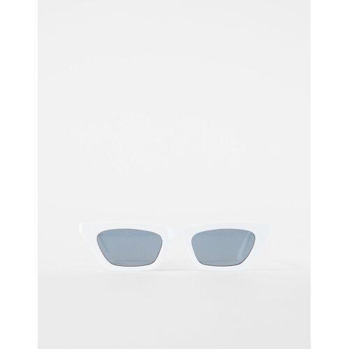 Bershka Cateye-Sonnenbrille Damen Weiss