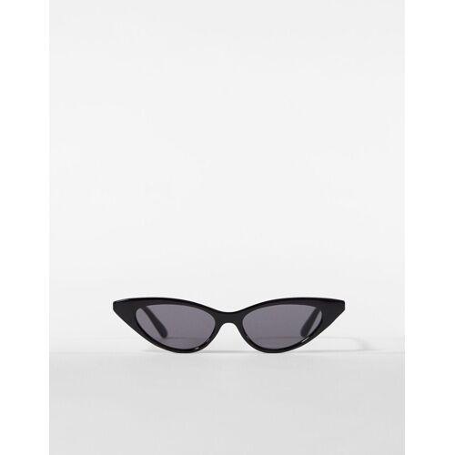 Bershka Cateye-Sonnenbrille Damen Schwarz