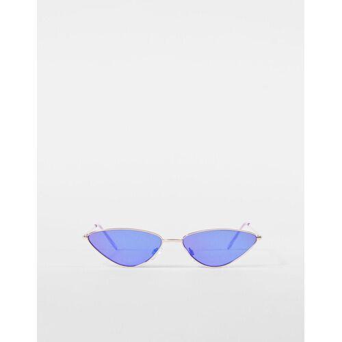 Bershka Cateye-Sonnenbrille Damen Blau