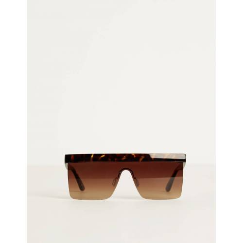 Bershka Sonnenbrille In Schildpattoptik Damen M Braun