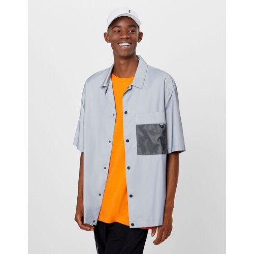 Bershka Reflektierendes Hemd