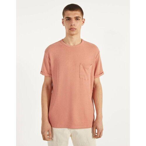 Bershka Shirt mit Tasche