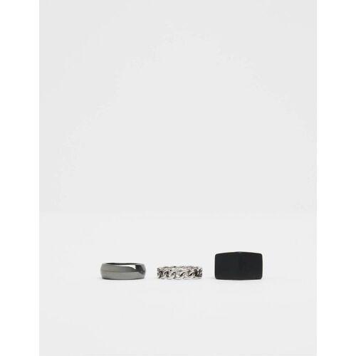 Bershka Set minimalistischer Ringe
