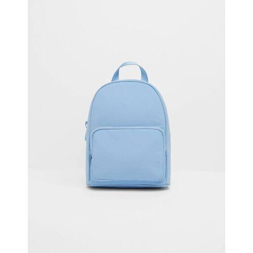 Bershka Reflektierender Rucksack Damen M Blau