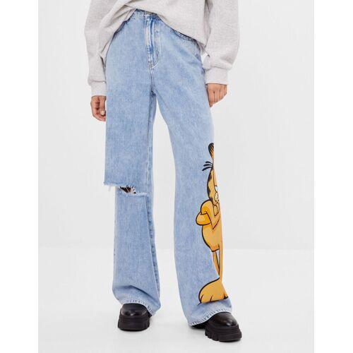 Bershka Jeans Garfield & Bershka