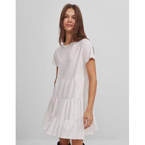 Bershka Kurzes Babydoll-Kleid