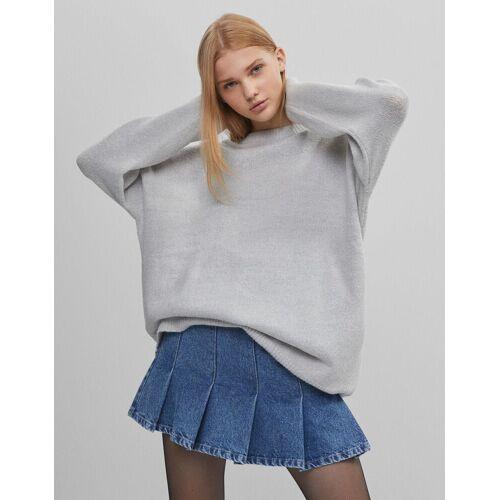 Bershka Oversize-Pullover aus Strick