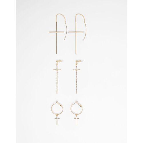 Bershka Set mit Ohrringe mit Kreuz