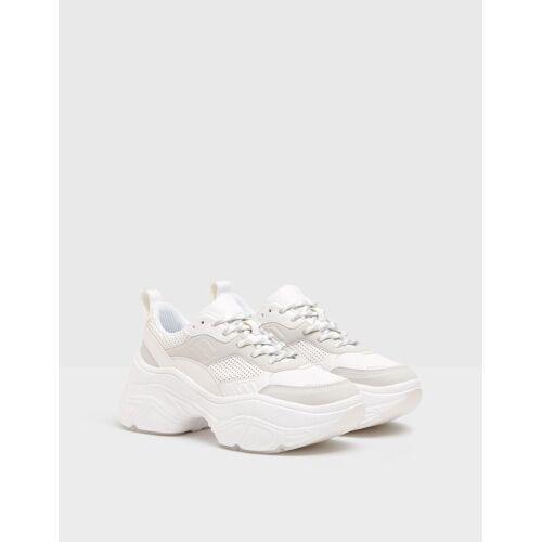 Bershka Kombinierte Sneaker Mit Xl-Sohle. Damen 37 Kombiniert