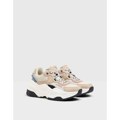 Bershka Kombinierte Sneaker Mit Xl-Sohle. Damen 40 Kombiniert