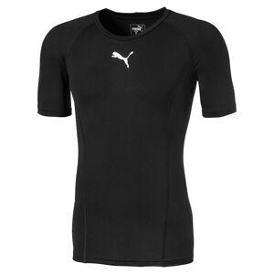 Puma LIGA Baselayer Herren T-Shirt   Mit Aucun   Schwarz   Größe: S