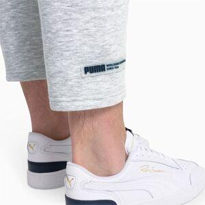Puma Taillierte Herren Sweatpants   Mit Heide   Grau   Größe: XXS