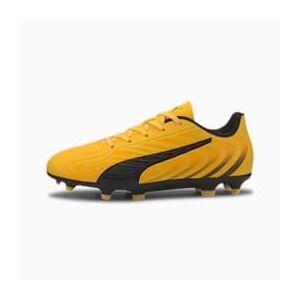 Puma ONE 20.4 FG/AG Youth Fußballschuhe Für Kinder   Mit Aucun   Orange/Schwarz/Gelb   Größe: 33