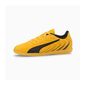 Puma ONE 20.4 IT Youth Fußballschuhe Für Kinder   Mit Aucun   Orange/Schwarz/Gelb   Größe: 33