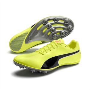 Puma evoSPEED Sprint 10 Leichtathletikschuhe   Mit Aucun   Gelb/Schwarz   Größe: 33
