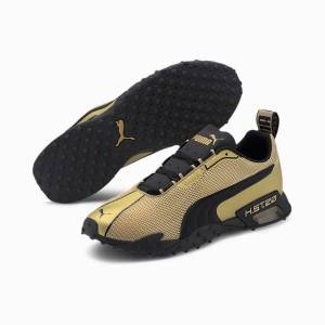 Puma H.ST.20 OG Gold Laufschuhe   Mit Aucun   Gold/Schwarz   Größe: 46