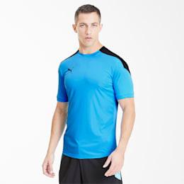 Puma ftblNXT Herren T-Shirt   Mit Aucun   Blau/Schwarz   Größe: S