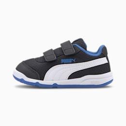 Puma Stepfleex 2 Mesh VE V Babies Sneaker Schuhe Für Kinder   Mit Aucun   Weiß/Blau/Schwarz   Größe: 21