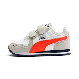 Puma Cabana Racer SL Baby Sneaker Schuhe Für Kinder   Mit Aucun   Weiß/Grau   Größe: 23