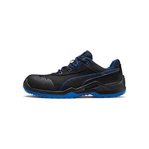 Puma Sicherheitsschuhe Argon Blue Low S3 ESD SRC Für Herren   Mit Aucun   Schwarz/Blau   Größe: 44