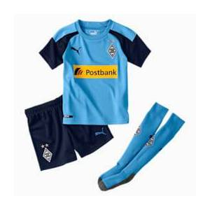 Puma Borussia Mönchengladbach Kinder Auswärts Mini Set   Mit Aucun   Blau   Größe: 98