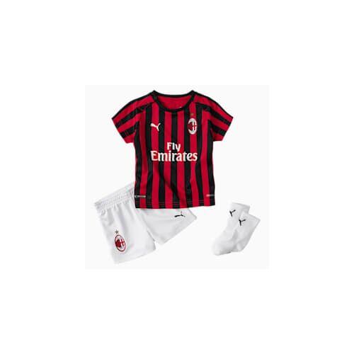 Puma AC Milan Babies Heim Mini Set mit Socken Für Kinder   Mit Aucun   Rot/Schwarz