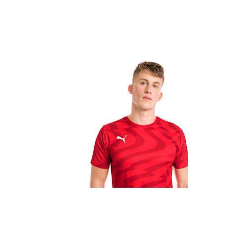 Puma CUP Core Herren Fußball Trikot   Mit Aucun   Rot/Weiß